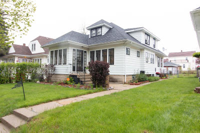 Single Family Home Active Contingent With Offer: 4352 N 15th St