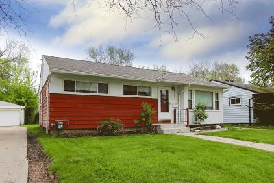Single Family Home Active Contingent With Offer: 8056 W Scranton Pl