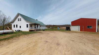 Blair Single Family Home For Sale: N35684 Weverstad Rd