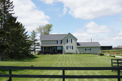 Cedar Grove Single Family Home For Sale: N1466 County Road Cc
