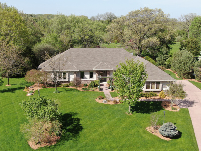 Waukesha Single Family Home Active Contingent With Offer: S31w31584 Harvest View Dr