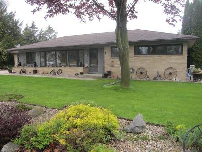 Sheboygan Falls Single Family Home Active Contingent With Offer: W3046 Old County Road Pp