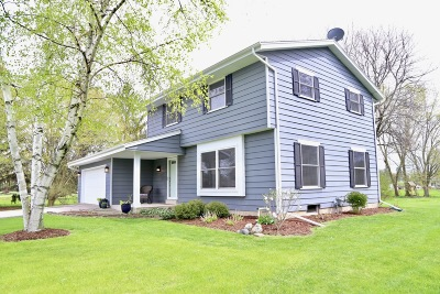 Mequon Single Family Home Active Contingent With Offer: 10443 N Magnolia Dr
