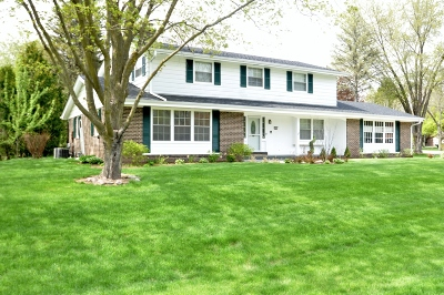 Mequon Single Family Home Active Contingent With Offer: 10311 N Fontainbleau Ct