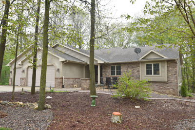 Slinger Single Family Home Active Contingent With Offer: 265 Glacial Dr