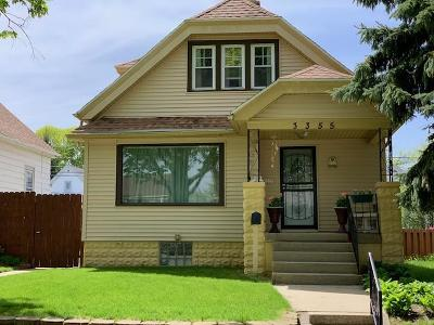 Milwaukee Single Family Home For Sale: 3355 S 7th St