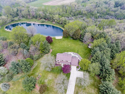 Dousman Single Family Home Active Contingent With Offer: S46w35864 Meadows Dr