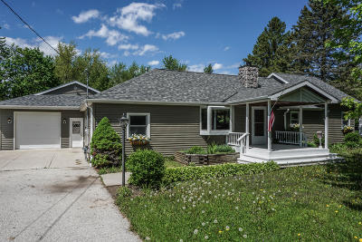 Hartland Single Family Home Active Contingent With Offer: N56w29320 County Road K