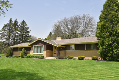 Menomonee Falls Single Family Home Active Contingent With Offer: N68w14044 Oakwood Dr