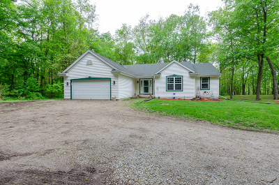 Watertown Single Family Home Active Contingent With Offer: N9349 Horseshoe Rd