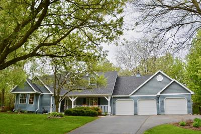 Lake Geneva Single Family Home Active Contingent With Offer: 2988 Deerpath Rd