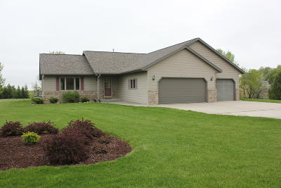 Plymouth Single Family Home For Sale: N6609 County Road Oj