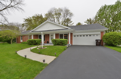 Racine Single Family Home Active Contingent With Offer: 5532 Birch View Rd