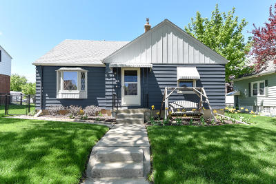 West Allis Single Family Home Active Contingent With Offer: 2349 S 62nd St