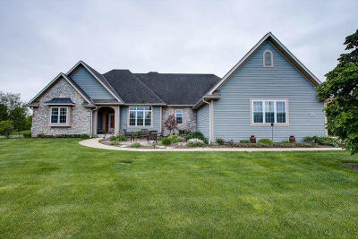 Menomonee Falls Single Family Home Active Contingent With Offer: N64w12883 Daylily Ct