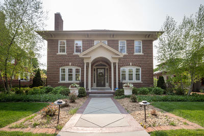 Shorewood Single Family Home Active Contingent With Offer: 3529 N Hackett Ave