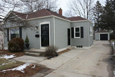 Whitefish Bay Single Family Home Active Contingent With Offer: 4634 N Elkhart Ave
