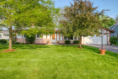 Hartland Single Family Home Active Contingent With Offer: 733 Oxford Dr