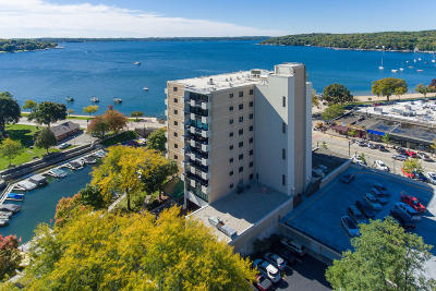 Lake Geneva Condo/Townhouse For Sale: 101 Broad St #801