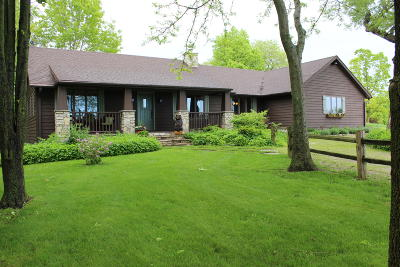 Whitewater Single Family Home Active Contingent With Offer: N7462 N Rock County Line Rd