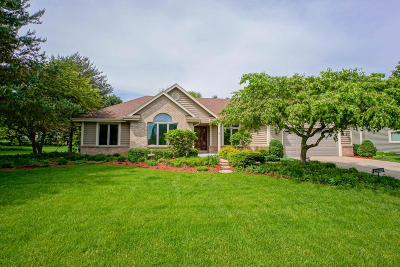 Single Family Home Active Contingent With Offer: N25w26290 Foxcroft Dr