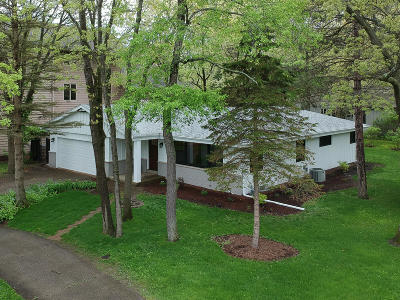 Pleasant Prairie Single Family Home Active Contingent With Offer: 8742 Lakeshore Dr
