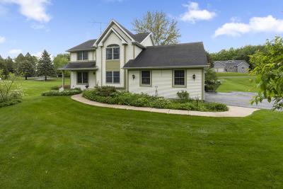 Elkhorn Single Family Home For Sale: W5335 Plantation Rd