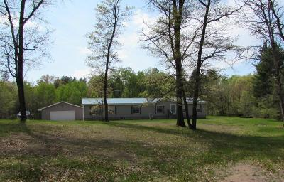 Single Family Home For Sale: N11349 Deer Lake Rd