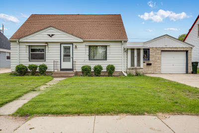 West Allis Single Family Home Active Contingent With Offer: 2442 S 70th St