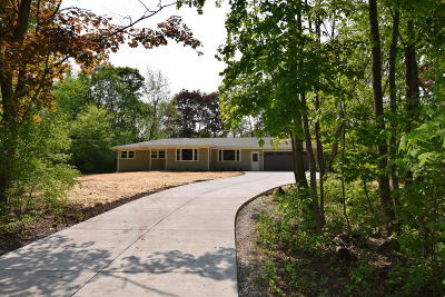 Menomonee Falls Single Family Home Active Contingent With Offer: W142n7289 Oakwood Dr