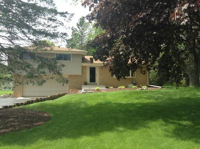 Menomonee Falls Single Family Home Active Contingent With Offer: W152n7065 Westwood Dr