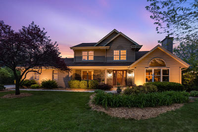 Menomonee Falls Single Family Home Active Contingent With Offer: W147n6894 Woodland Dr