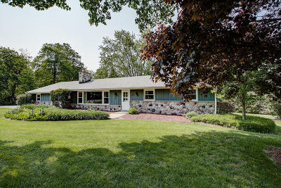 West Bend Single Family Home Active Contingent With Offer: 4155 Old Homestead Dr