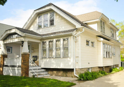 West Allis Two Family Home Active Contingent With Offer: 1556 S 83 St #1558