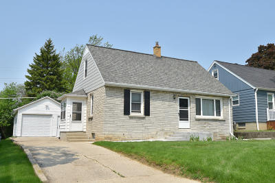 Wauwatosa Single Family Home For Sale: 265 N 111th St