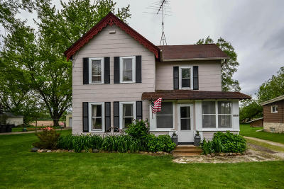 East Troy Single Family Home For Sale: N8737 Briggs St