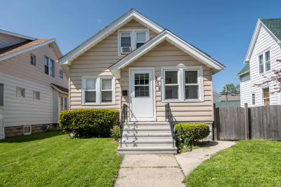 South Milwaukee Single Family Home Active Contingent With Offer: 808 Milwaukee Ave