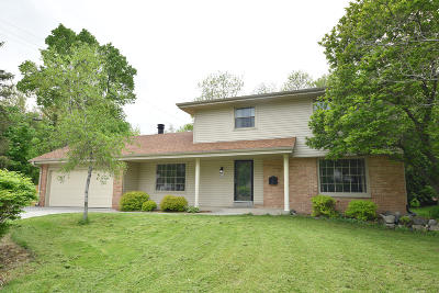 Menomonee Falls Single Family Home Active Contingent With Offer: W172n8857 Shady Ln