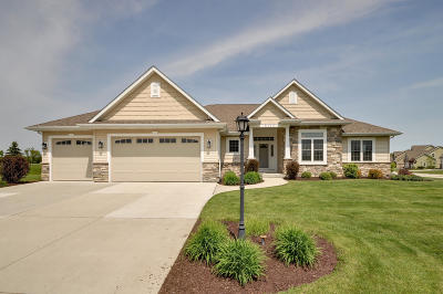 Racine County Single Family Home Active Contingent With Offer: 8110 Daub Ct