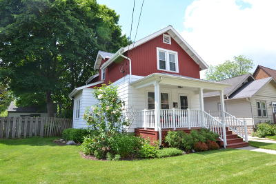 Waukesha Single Family Home Active Contingent With Offer: 312 N Greenfield Ave