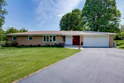 Menomonee Falls Single Family Home Active Contingent With Offer: W141n7558 Lari Lou Ct