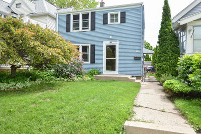 West Allis Single Family Home Active Contingent With Offer: 1312 S 77th St