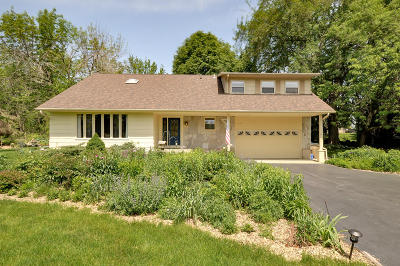 Pleasant Prairie WI Single Family Home Active Contingent With Offer: $349,900