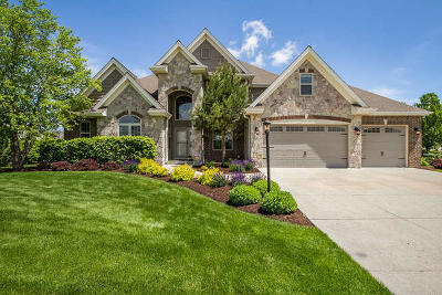 Pleasant Prairie WI Single Family Home Active Contingent With Offer: $594,900