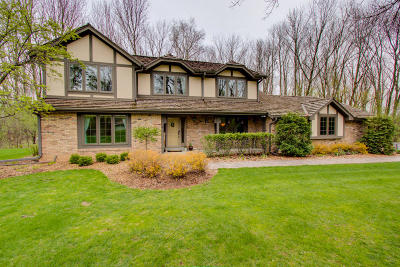 Single Family Home For Sale: N67w31010 Golf Rd