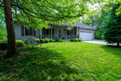 Elkhorn Single Family Home Active Contingent With Offer: W6910 Sheridan Rd