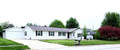 Jackson WI Single Family Home Active Contingent With Offer: $233,900