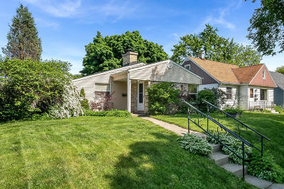 Single Family Home Active Contingent With Offer: 3446 N 78th St