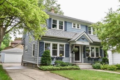 Wauwatosa Single Family Home Active Contingent With Offer: 2335 N 72nd St