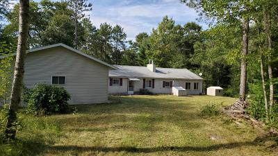 Single Family Home For Sale: W9542 W County Road C